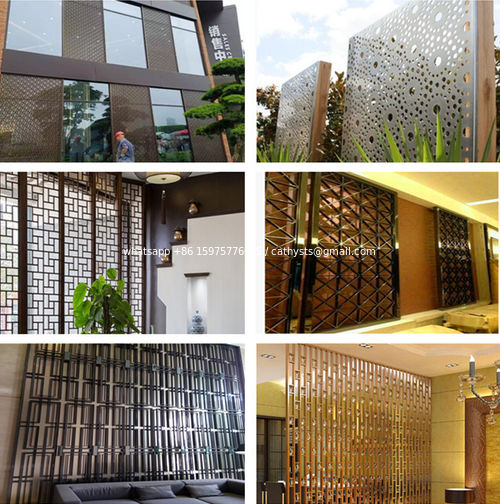 metal screen ---architecture, interior and exterior decoration