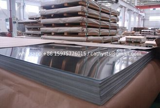 304 mirror finish stainless steel sheet for decorations 1.2x1219x2438mm