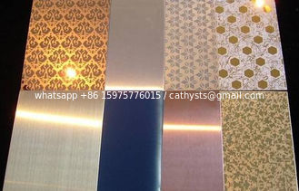 Stainless Steel decorative Sheet / Plate aisi201 304 316