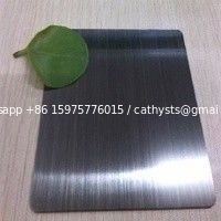 China supplier hairline black color stainless steel sheet 304 430 grade 4x8 size