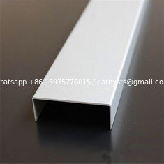 building materials metal tile trim corners stainless steel u channel custom size and color