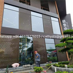 high quality exterior laser cut panel facades stainless steel decorative panel