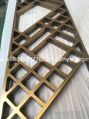 China aluminium perforated carved decorative metal panel for fence, screen, wall,room divider,facade supplier