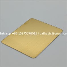 China stainless steel sheet sus304 gold color mirror finish decoration steel sheet 4x8 size