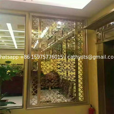 metal stainless steel Laser Cut Panels Indoor & Outdoor use for housing projects