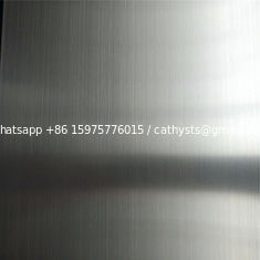 S.S SHEETS GRADE 201 BRUSH FINISH WITH PVC 4'x8' 4'x10' stainless steel finish