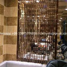 Laser Cut Home Living Furniture Metal Room Divider Decorative screen