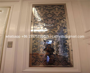 Stainless Steel Mirror Sheet Metal for Interior SCREEN PANEL Wall decoration