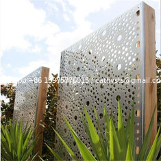 laser cutting metal fence metal screen for garden fence or decoration