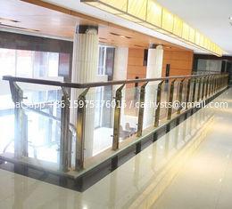 stainless steel glass handrail glass balustrade balusters/post/column/pillar