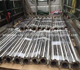 stainless steel 304 glass balcony column for handrail mirror finish