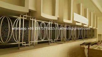 CNC sheet metal fabrication stainless steel art manual work