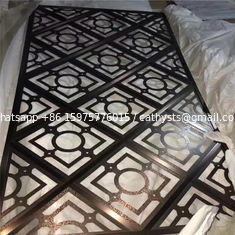 hotel interior wall paneling decoration stainless steel screen