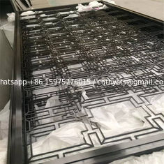 China hotel interior wall paneling decoration stainless steel screen supplier