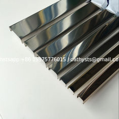 China SS304 profiles mirror finish stainless steel U channel for Top glass railings supplier