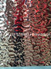 hammered stainless steel sheet mirror sheet 304  316 grade for wall decoration