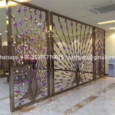 metal artwork gold stainless steel decorative panel made in china