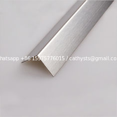 hot sale L shaped tile trim stainless steel hairline finish made in china