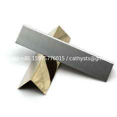 SS 201 304 stainless steel straight edge trim for protecting wall and decorative tile trim