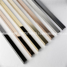 China Free sample stainless steel tile trim u shape polished ss profile supplier