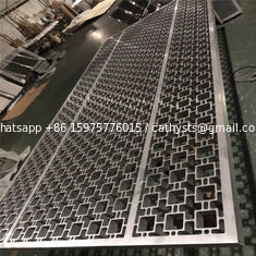 Hot sale decorative metal panels stainless or aluminum partition wall screen divider panels