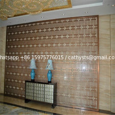 feature stainless steel panel metal feature screens for wall cladding or wall divider