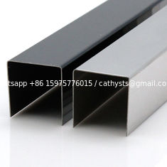 SS 201 304 grade stainless steel square edge trim for stair edge and corner protector