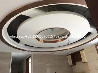 China Offer free samples decorative trim stainless steel U channel for ceiling curved lines supplier