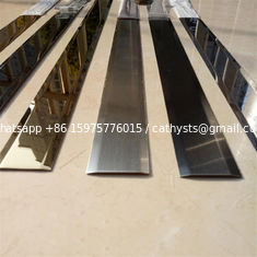 Mirror Finish Matt Stainless Steel Trim Edge Trim Molding 201 304 316 for wall ceiling furniture decoration