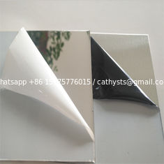 China super quality 201 304 elevator cladding panel metal stainless steel sheet mirror or brushed finish supplier