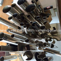 304 Stainless Steel Tube U channel stainless steel pipe for glass profiles