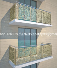 Metallic Color Aluminum Partition For Column Cover/Cladding