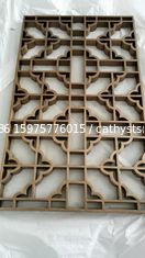 China Cooper  Metal Laser Cut Panels Color stainless steel screens Cooper Metal Laser Cut Panels For Sunshades Louver 304 316 supplier