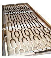 China Mirror Copper Stainless Steel Room Dividers For Facade/Wall Cladding/ Curtain Wall/Ceiling supplier