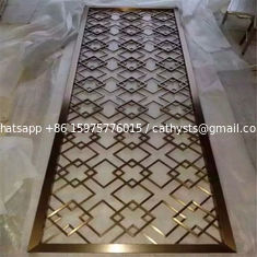 China Mirror Copper Metal Screens For Facade/Wall Cladding/ Curtain Wall/Ceiling supplier