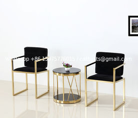 steel Metal furniture and Metal Material table legs or chair with mirror polished