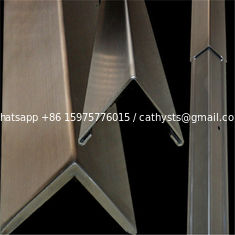 Mirror Finish Bronze Stainless Steel Trim Edge Trim Molding 201 304 316 for wall ceiling furniture decoration