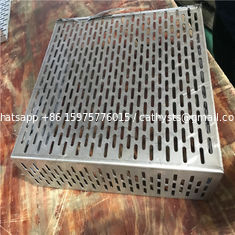 China customized cutting alloy sheet stainless steel perforated metal panel supplier