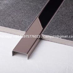 China Metal Matt Corner Guards 201 304 316 Mirror Hairline Brushed Finish supplier