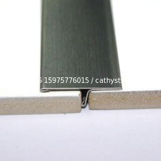 China Metal Matt Trim Edge Trim Molding 201 304 316 Mirror Hairline Brushed Finish supplier