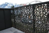 China Powder Coated Decorative Outdoor metal screen Villa Garden Aluminum panel perforated Fence company