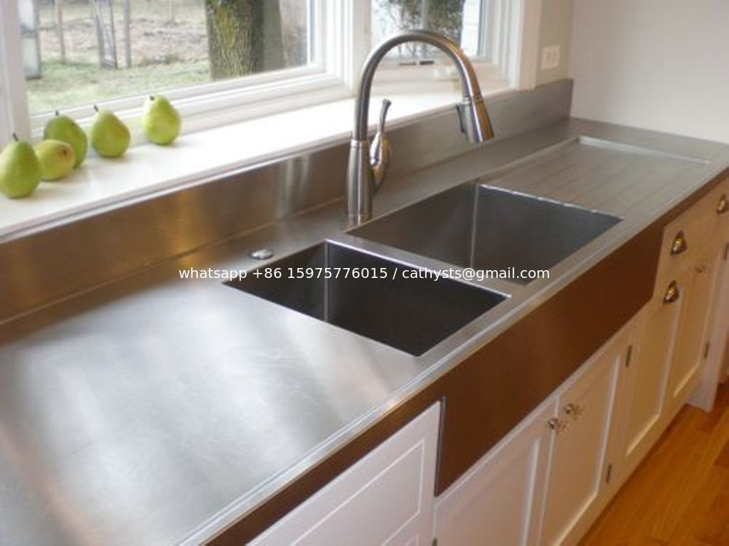 201 304 stainless steel plain sheet for countertop. Black Bedroom Furniture Sets. Home Design Ideas