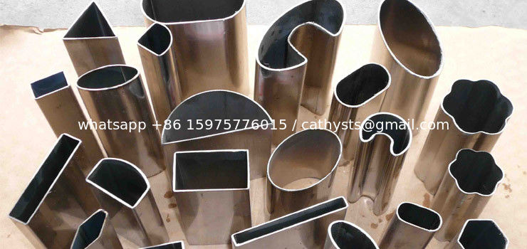Round Square Rectangular Oval Profile Stainless Steel Tubes