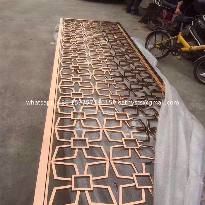 stainless steel sheet metal fabrication laser cut screen room