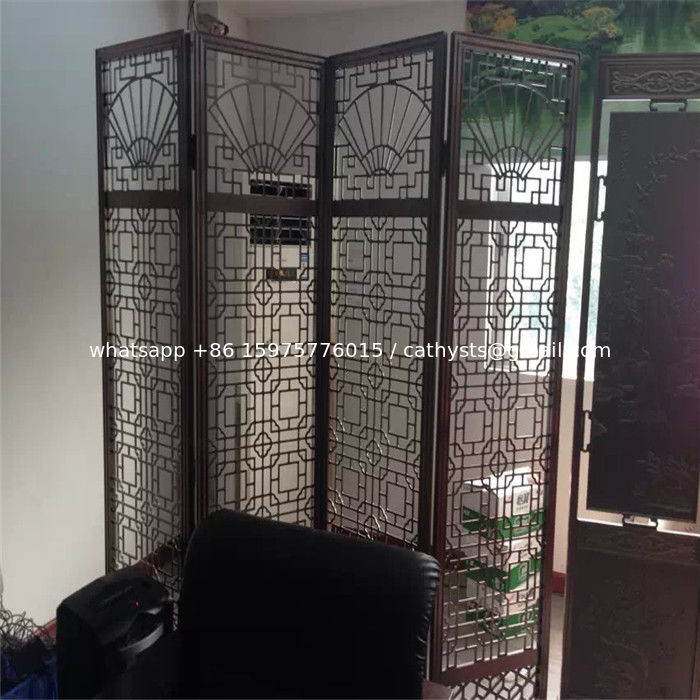 sheet metal fabrication stainless steel folding screen room divider