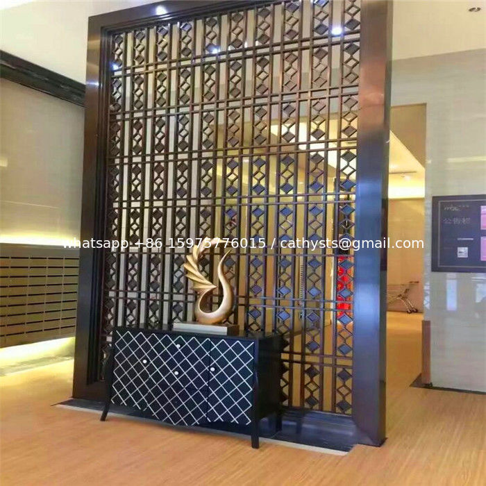Metal Partition Walls : Good quality wall partition decorative pattern metal panel