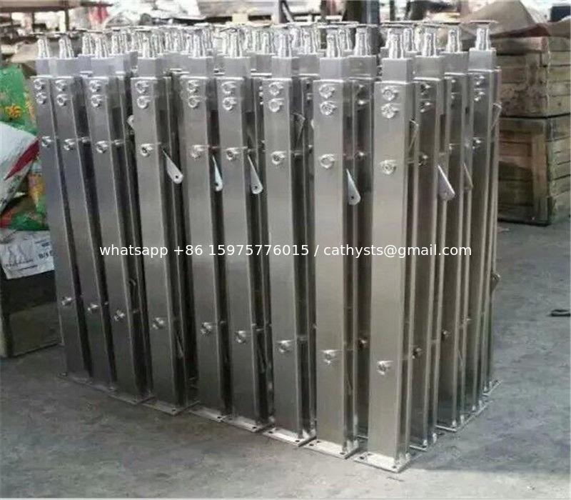 Modern Designs Metal Steel Pipe Stair Stainless Steel Handrail Outdoor  Metal Stair Railing