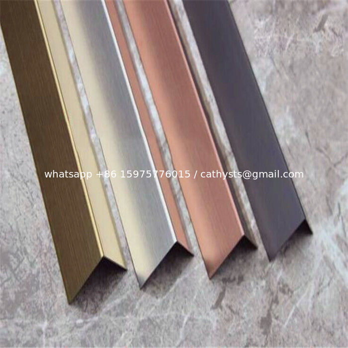 China Supplier Stainless Steel Angle Tile Trim Stainless