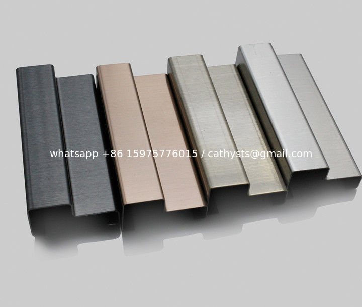 Stainless Steel Moulding Shaped Trim