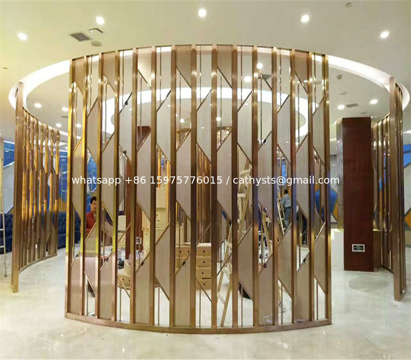 Metal Artwork Gold Stainless Steel Decorative Panel Made